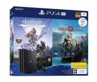 Игровая приставка Sony PlayStation 4 Pro 1 ТБ в комплекте с 2 играми: Horizon Zero Dawn + God Of War
