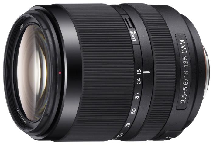 Объектив Sony DT 18-135mm f/3.5-5.6 SAM (SAL-18135) Черный со скидкой