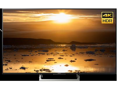 """Телевизор 55"""" Sony KD-55XE8596BR2 4K HDR Черный со скидкой"""