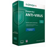 ПО Kaspersky Anti-Virus 2015, русская версия