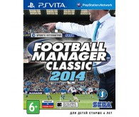 Игра для PS Vita Football Manager Classic 2014, русская версия