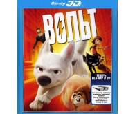 Фильм Вольт 3D (Blu-ray)