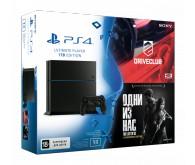 Игровая приставка Sony PlayStation 4 1 ТБ + игра DriveClub + игра Одни из нас Обновленная версия