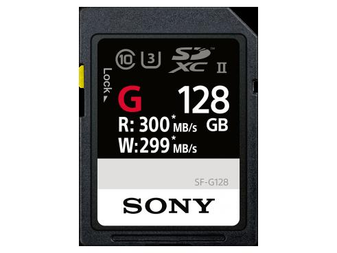 Карта памяти SD Sony SF-G1G 128 ГБ Черный со скидкой
