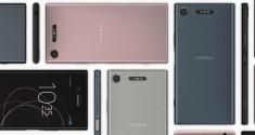 Sony представила новые смартфоны Xperia XZ1 и Xperia XZ1 Compact на выставке IFA 2017