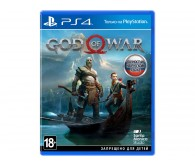 Игра для PS4 God of War, русская версия