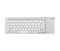 Клавиатура беспроводная Rapoo E2700 Smart TV USB, slim Touch