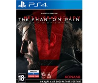 Игра для PS4 Metal Gear Solid V: The Phantom Pain, русские субтитры