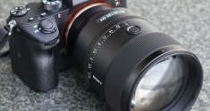 Sony выпустила новый полнокадровый объектив серии G Master 135 мм F1,8