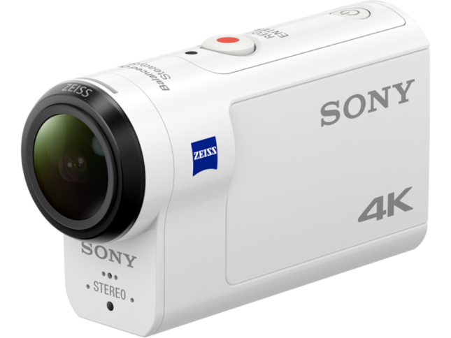 Видеокамера Sony FDR-X3000 Action Cam 4K, SteadyShot, Wi-Fi и GPS Белый со скидкой