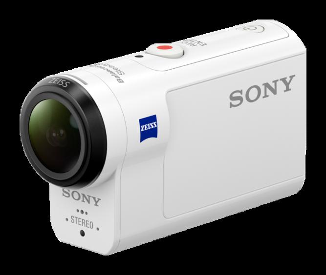 Видеокамера Sony Action Cam HDR-AS300R 4K, Wi-Fi и GPS Белый со скидкой