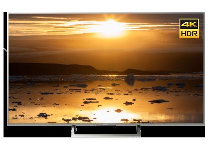 """Телевизор 55"""" Sony 4K HDR KD-55XE8577SR Серебристый со скидкой"""