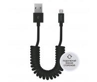 Кабель Deppa USB - micro USB витой 2 м