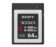 Карта памяти XQD Sony QD-G64E 64 ГБ