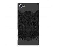 Чехол Deppa Art Case и защитная пленка для Sony Xperia Z5 Compact, Black Тигр