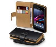 Чехол Wallet Case для Xperia Z1 Compact