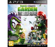 Игра для PS3 Plants vs. Zombies Garden Warfare, русская документация