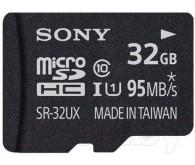 Карта памяти microSD Class 10, UHS-1, 32 ГБ + адаптер
