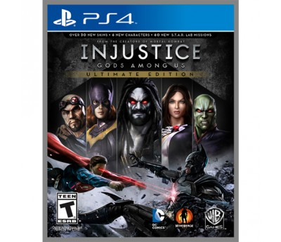Injustice: Gods Among Us Ultimate Edition – цена и описание