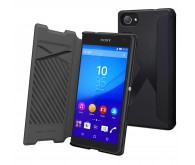 Чехол-книжка Muvit Mfx Easy Folio Case для Xperia Z5 Compact