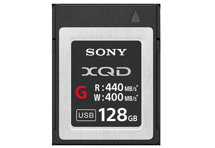 Карта памяти Sony XQD QD-G128E 128 ГБ Черный со скидкой