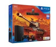 Игровая консоль PlayStation 4 (500 ГБ) в комплекте с игрой World of Tanks
