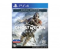 Игра для PS4 Tom Clancy's Ghost Recon: Breakpoint. Auroa Edition, русская версия