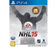 Игра для PS4 NHL 15, русские субтитры