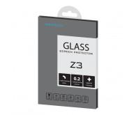 Защитное стекло + пленка BROSCO для Xperia Z3