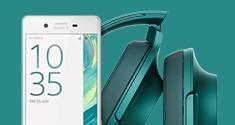 При покупке смартфонов из серии Xperia X скидка 25% на наушники серии hear