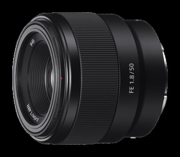 Полнокадровый объектив Sony SEL50F18F 35 мм Черный со скидкой