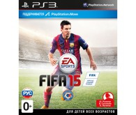Игра для PS3 FIFA 15 с поддержкой PS Move, русская версия