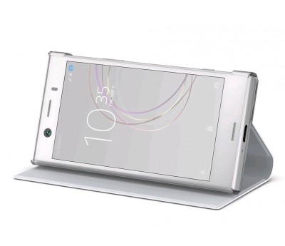 Чехол Sony Style Cover Stand SCSG60 для Xperia XZ1 Compact белый – цена и описание