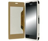 Чехол Krusell FlipCover Malmo для Sony Xperia Z1 Compact
