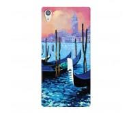 Чехол Deppa Art Case и защитная пленка для Sony Xperia Z5, Art Венеция
