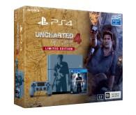 Игровая приставка Sony PlayStation 4 1 ТБ + игра Uncharted 4: Путь вора