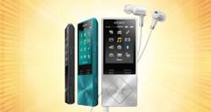 При покупке MP3-плеера Walkman® – получи чехол!