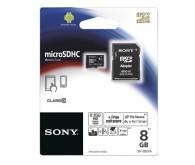 Карта памяти microSD Class 10, 8 ГБ + адаптер