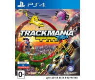 Игра для PS4 Trackmania Turbo, русская версия