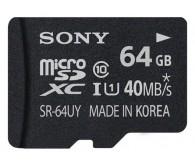 Карта памяти MicroSD Sony SR64UYAT (аксессуар для Sony Xperia)