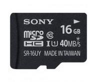 Карта памяти microSD Class 10, 16 ГБ + адаптер