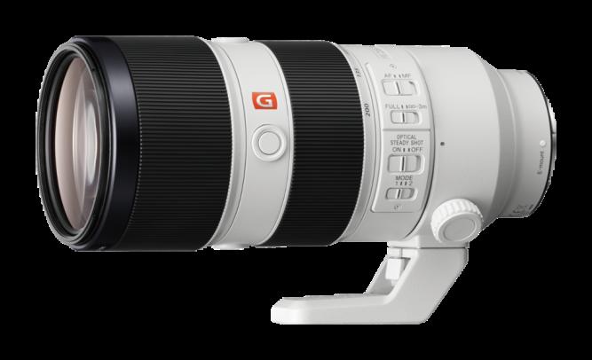 Зум-телеобъектив Sony серии G-Master Alpha SEL70200GM Белый со скидкой