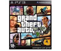 Игра для PS3 Grand Theft Auto V, русские субтитры