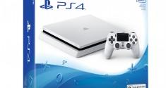 Sony представила PlayStation 4 в расцветке «Белый ледник»