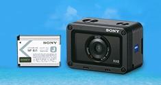 Получите аккумулятор при покупке камеры Sony RX0