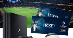 Sony разыгрывает билеты на финал Лиги чемпионов UEFA 2017 в Кардиффе