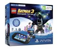 Игровая приставка PS Vita 2000 + Lego Batman 3 + карта 8 Гб
