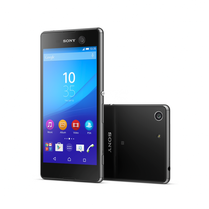 Смартфон Sony Xperia M5 Dual 16Gb Черный со скидкой