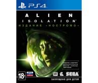 Игра для PS4 Alien: Isolation. Nostromo Edition, русская версия