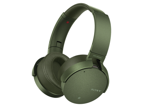 Полноразмерные беспроводные наушники Sony MDR-XB950N Зеленый